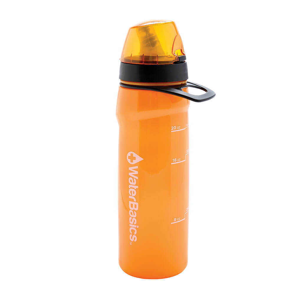 waterbasics red line filter bottle